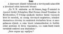 1873: Text of the interpreters' oath as published in the 1873 Decree