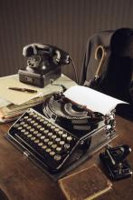 1950: Office desk